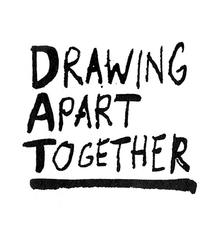 drawing apart together