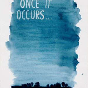 Once..